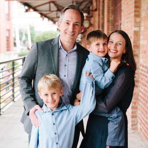 Matt Kopac family pics
